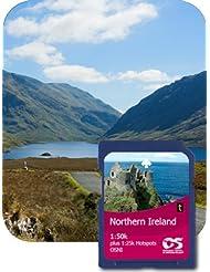 Satmap GPS System Karte 1:50000 Nordirland: Gesamt (plus einige Regionen in 1:25000)