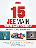 15 Years JEE Main Chapterwise Solutions - Phy, Chem, Maths