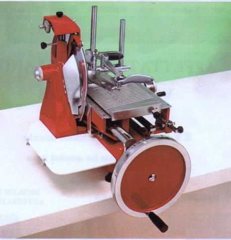 Schleifmaschine für Schwungrad, Klingendurchmesser 300 mm rot