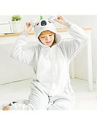 Pyjamas Adulte Unisexe - Costume en Peluche Cosplay Pour Animaux en Peluche Epaississement de L'Hiver Tenue de Loisir