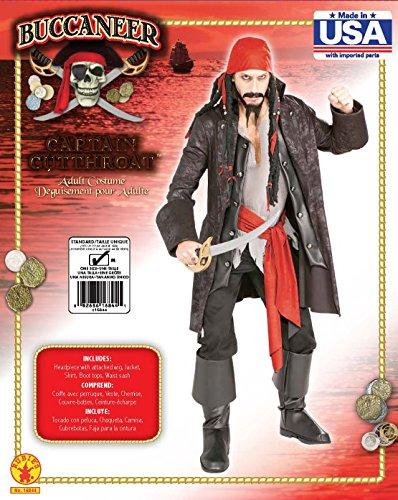 Imagen de rubie's  disfraz de capitán pirata para adulto talla estándar  alternativa