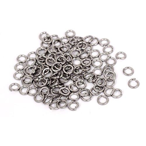 Sourcingmap® m3304in acciaio INOX split blocco primavera rondelle vite guarnizione 100pcs