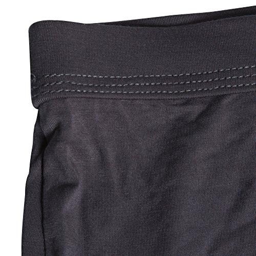 Sidiou Group Modal Unterhose Boxershorts mit konvexen dreidimensionalen Gestaltung der U-Form für den Menschen Sexy Shorts für Männer Grau