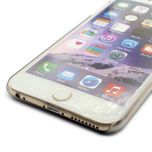 iPhone 6 Hülle, iPhone 6S Schutzhülle, Hamyi 3D Relief Skulptur Hartplastik Schalen für iPhone 6 und iPhone 6S (4,7 Zoll) (Planet) Schädel
