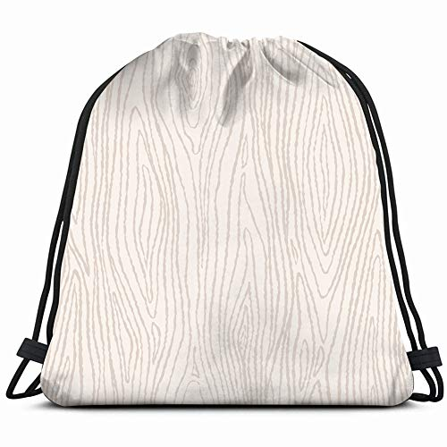 fjfjfdjk Wood Texture Template Drawstring Backpack Gym Sack Lightweight Bag Water Resistant Gym Backpack for Women&Men for Sports,Travelling,Hiking,Camping,Shopping Yoga (Beach Wood Flooring)