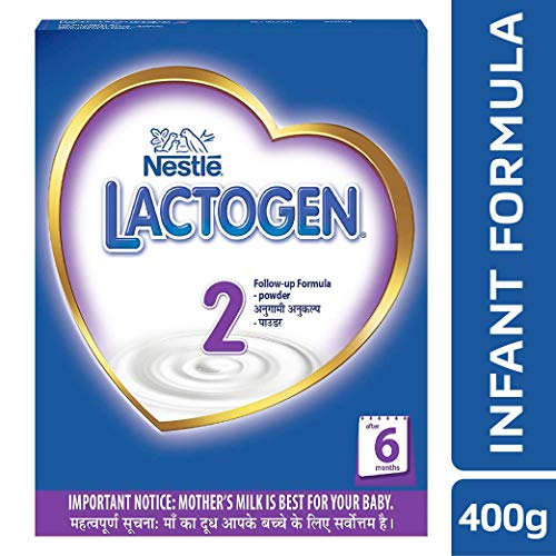 Nestle Lactogen 2 Follow-Up Infant Formula Powder, After 6 months, 400g Pack