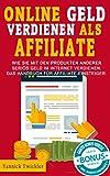 Online Geld verdienen als Affiliate