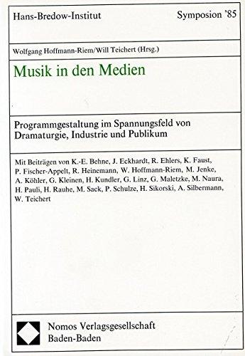 MUSIK IN DEN MEDIEN - arrangiert für Buch [Noten / Sheetmusic] Komponist: HOFFMANN RIEM WOLFGANG + TEICHERT WILL
