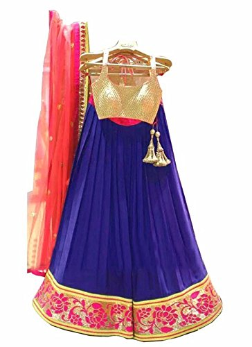 RAMAPIR FASHION Women\'s Designer lehenga choli multi