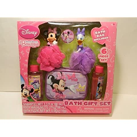 Disney Minnie Mouse Bow-Tique Bath Gift Set Christmas / Birthday by Disney - Mouse Bow