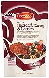 Linwoods Milled Flaxseed, colore: cioccolato e fragole, colore: mirtillo, 360 g