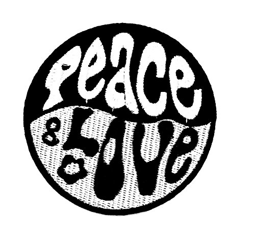 rabana Yin Yang Peace Love Mod Ska Schild Kid Cartoon Kids Kinder Cute Animal Patch für Heimwerker-Applikation Eisen auf Patch T Shirt Patch Sew Iron on gesticktes Badge Schild Kostüm