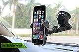 ZFITEI Universal Mobile Car Phone Holder 360 Degree Adjustable Window Windshield Dashboard Holder Stand GPS