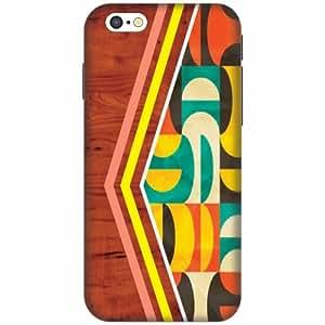 PrintlandPrintedHard Plastic Back Cover for Apple iPhone 6 -Multicolor