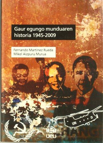 Gaur egungo munduaren historia epub
