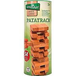 Legnoland - Patatrack de madera, 54 piezas (GLOBO 40312)