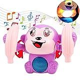 Interaktive Affe Elektronische Spielzeug Tanzen Musik Cute Robot Baby Spielzeug Sound Control Tier Spielzeug Kleinkind Kinder Mädchen