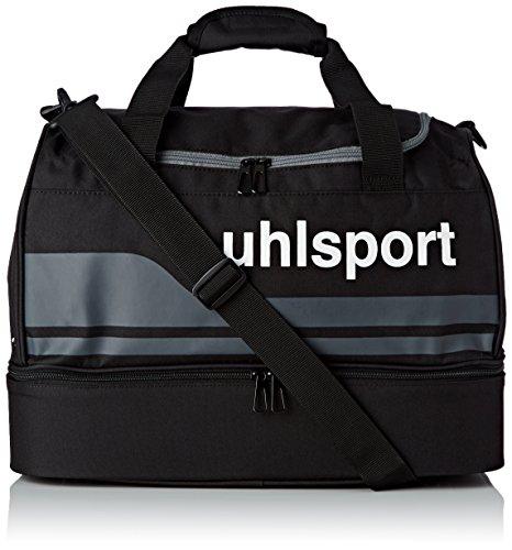 uhlsport Basic Line Spielertasche, Schwarz/Anthra, S, 100424501