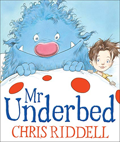Mr Underbed por Chris Riddell