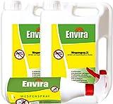 ENVIRA Wespenvernichtungsmittel 2x2Ltr + 500ml