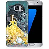 Fan Art Beauty & The Beast Phone Case Gel TPU Cover for Samsung Galaxy S8 Plus (G955) with Screen Protector / EJC Avenue / Dress