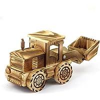 pengweijuguetes de madera para niños excavadoras modelo Artesanía Decoración