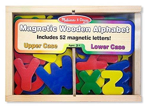 52 magnetische Holzbuchstaben * von Melissa & Doug