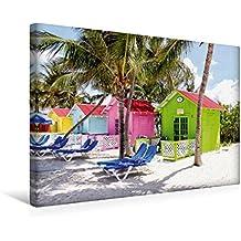 Calvendo Premium Textil-Leinwand 45 cm x 30 cm Quer, Ein Motiv aus Dem Kalender Die Bahamas - Ein Paradies auf Erden | Wandbild, Bild auf Keilrahmen. Leinwand, Leinwanddruck Orte Orte