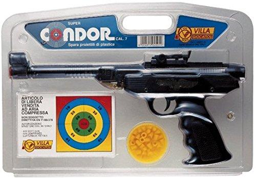 Villa Giocattoli 2501 Condor Air Soft Pistolet de Sport en métal avec Objectif Calibro 7 mm