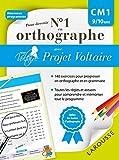 Telecharger Livres Pour devenir nº1 en orthographe avec Projet Voltaire CM1 (PDF,EPUB,MOBI) gratuits en Francaise