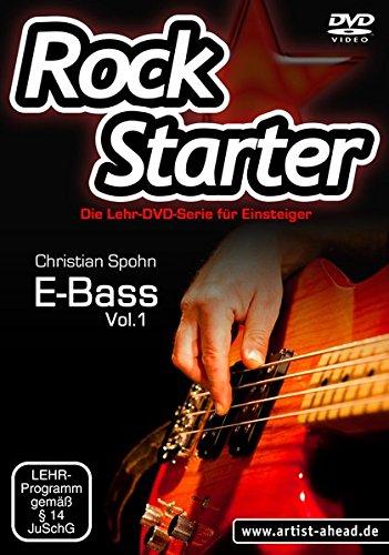 Rockstarter, Vol.1: E-Bass - Lehr-DVD-Serie für Einsteiger