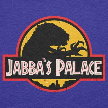 NERDO - Jabba's Palace - Damen T-Shirt Marine