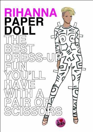 Paper Doll Rihanna by Mel Elliott (2012-07-15)
