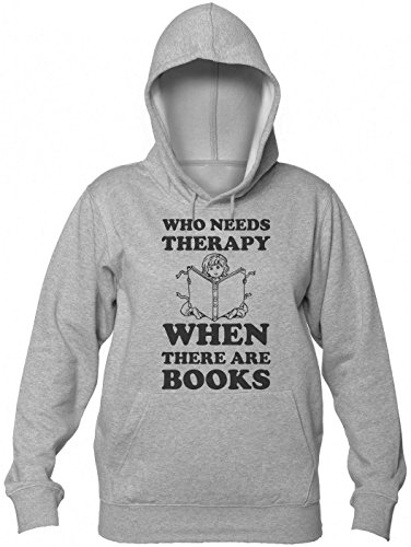 Who Need Therapy When There are Books Women's Hooded Sweatshirt