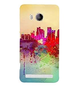 PrintVisa Colorful Modern Art Design 3D Hard Polycarbonate Designer Back Case Cover for VivoXshot