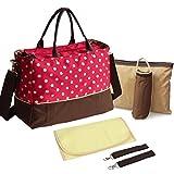 Multifunktionale Baby Wickeltasche Handtasche Kinderwagen Buggy Pflegetasche Babytasche Set