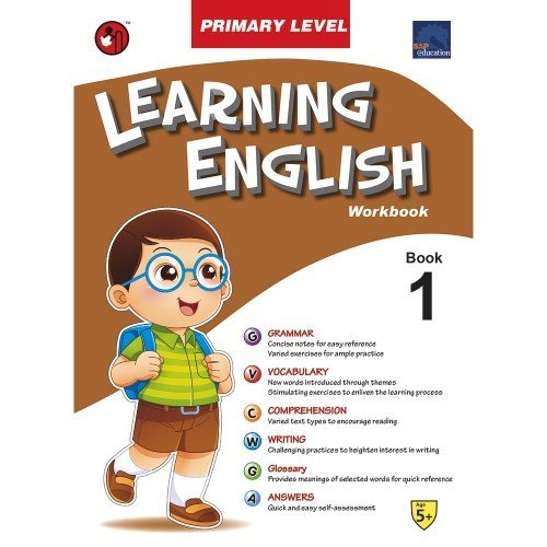 SAP Learning English Primary Level Workbook 1 [Paperback] par SHREE BOOK CENTRE