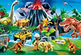 Schmidt Spiele 55442 - Playmobil, Dinowelt, 150 Teile Puzzle