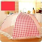 Food Cover Zelte - Umbrella Shape Mesh-Abdeckungen in 3 Größen, Umbrella Screens für Lebensmittel und Obst von Fliegen und Bugs bei Picknicks, BBQ und vieles mehr zu schützen