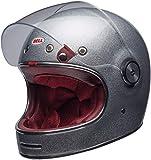Bell Helm Bullitt Dlx Flake Silver Größe M