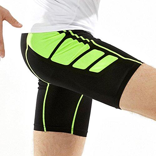 Abbigliamento sportivo da uomo Set 2 pezzi Fitness Athletic Quick Dry Abbigliamento Set manica corta T-Shirt e pantaloni sportivi C
