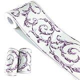 Adhesivo para decoración del hogar, baño, cocina, 4 pulgadas por 32.8 pies, multicolor