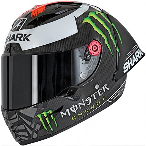 Shark Casco integral RACE-R PRO GP Lorenzo Carbon Red Silver DRS talla