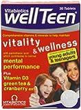 Vitabiotics Wellteen - 30 Tablets
