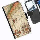 Hairyworm- Nautisch Seiten Leder-Schützhülle für das Handy Blackberry Passport