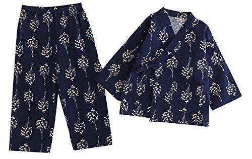 Blancho Bedding Pijamas Otoño y el Invierno Algodón Kimono Pijamas Albornoz para Niños Pijamas