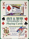 Hawkins Tobar Riesen-Kartenspiel - Spielkarten Extra Groß - als Geschenk oder zum Zaubern oder als Spaß