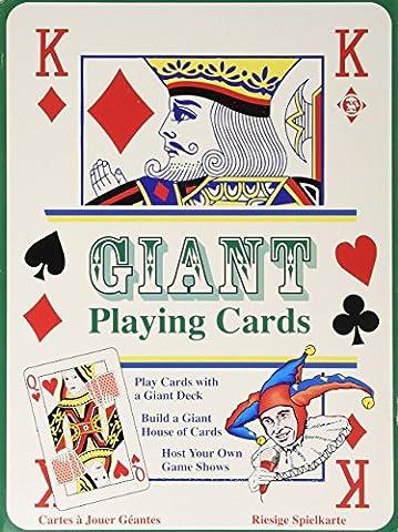Tobar Riesen-Kartenspiel - Spielkarten Extra Groß - als Geschenk oder