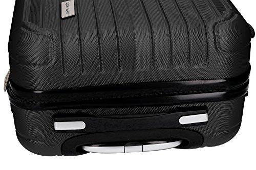 51Wp72Ss4GL - 3 Maletas rígidas PIERRE CARDIN negro 4 ruedas cabina para viajes VS214