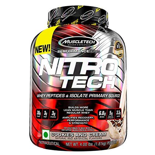 Muscletech Suplemento para Deportistas Nitro Tech Performance